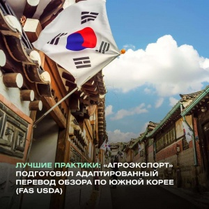 BEST PRACTICES: AGROEXPORT HAS PREPARED AN ADAPTED TRANSLATION OF THE SOUTH KOREA REVIEW (FAS USDA)